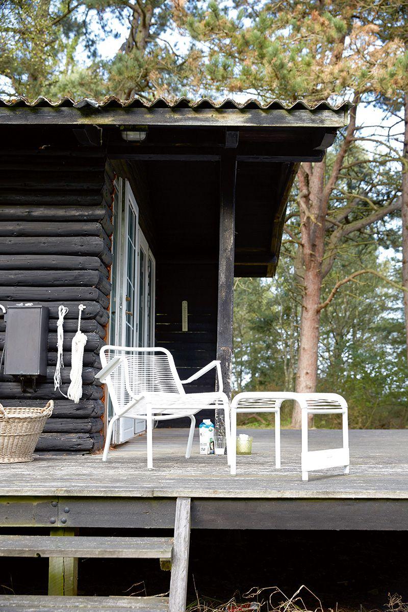 Lounger Saint-Tropez, fauteuil de jardin et repose-pieds ...