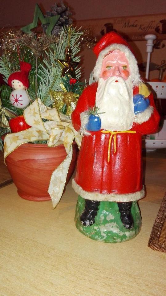 Sehr alten Weihnachtsmann zur Deko in Mecklenburg