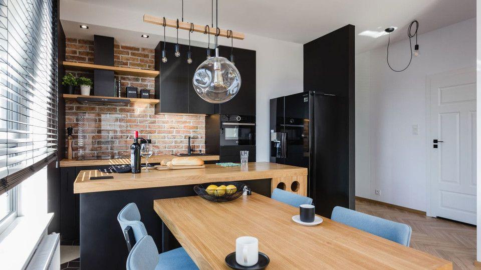 Swietnie Urzadzone 57 Metrowe Mieszkanie W Bloku Najtrudniej Bylo Zaaranzowac Kuchnie Zobaczcie Efekt Home Room Design Interior Design Kitchen Loft Interiors