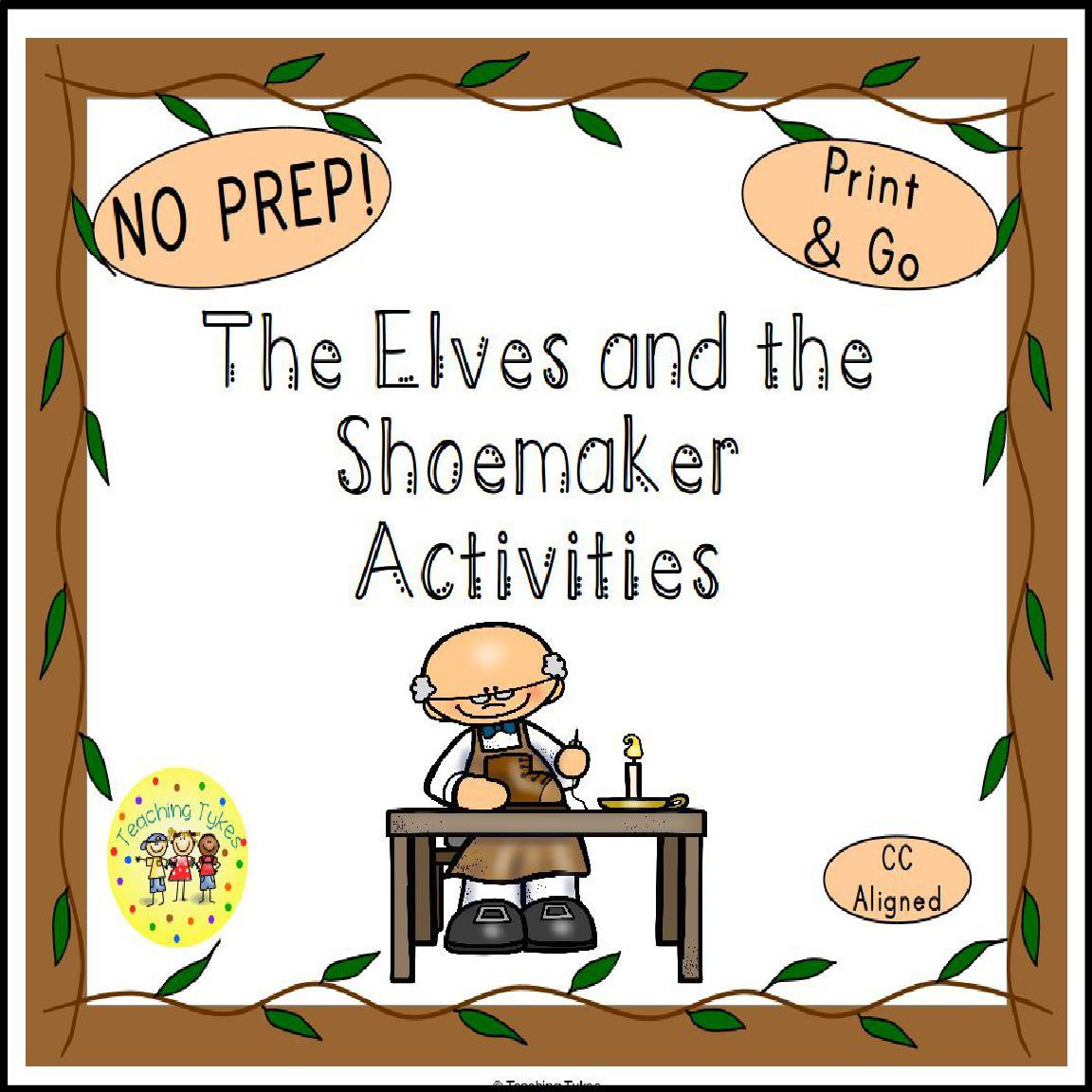 The Elves And The Shoemaker Activities Theelvesandtheshoemaker Fairytales Theelvesandtheshoemakeractivities Fairytalesactivitie The Elf Activities Teaching