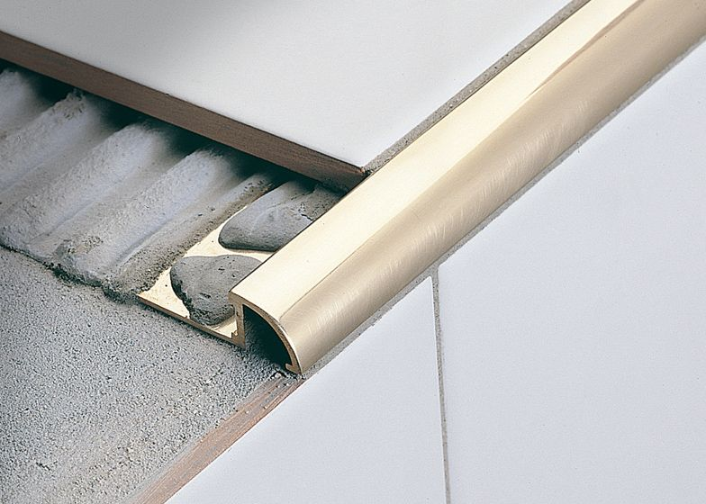Roundtec Rd Joint Profiles For Ceramic Steps Profilitec S P A Tile Edge Stairs Edge Tile Steps