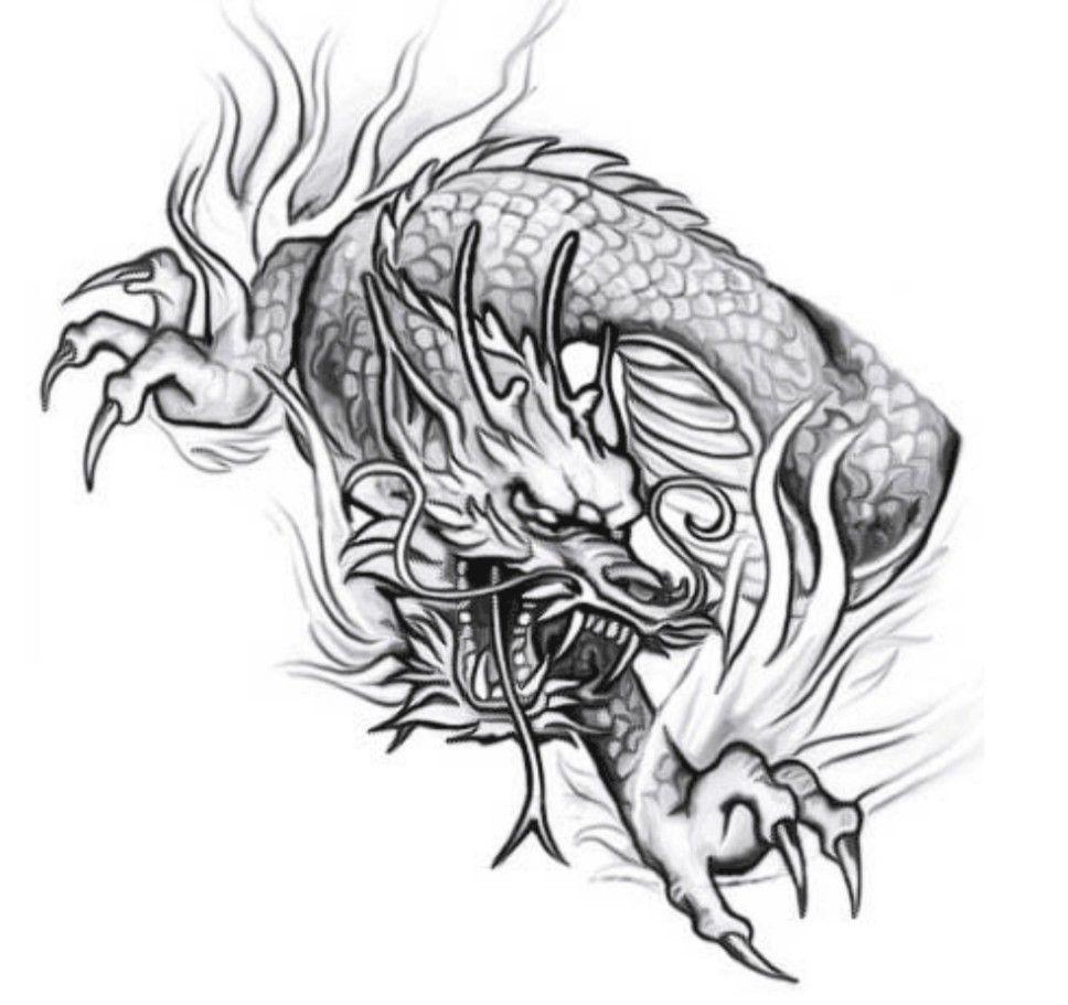 Cabezas De Dragones Para Tatuar ideairis phillips on tattoos 1 | black dragon tattoo