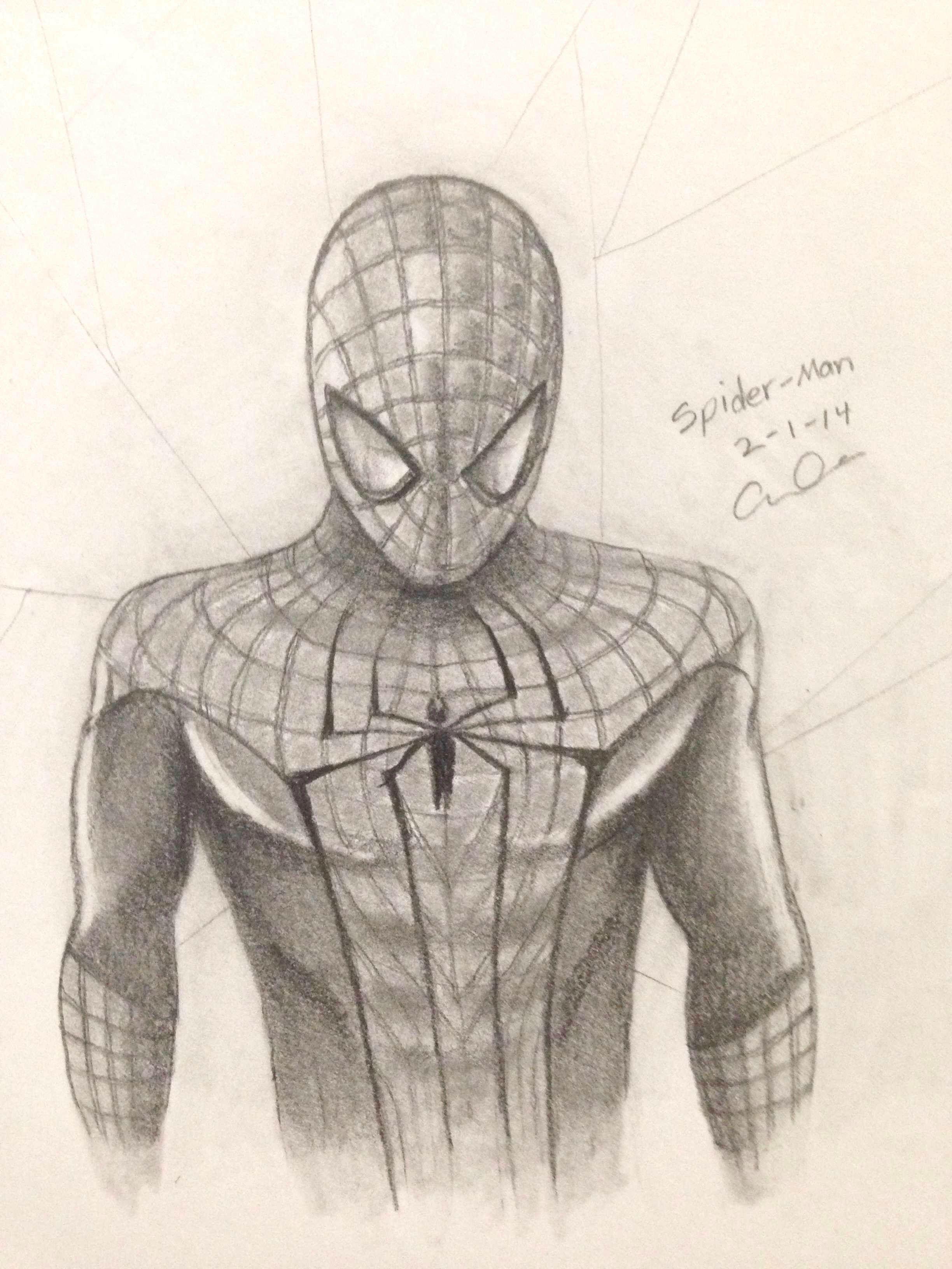The Amazing Spider Man Spidey Spiderman Detchasketch çizim