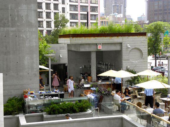 David Burke Kitchen Outdoor Garden | • NYC Restaurants • | Pinterest ...