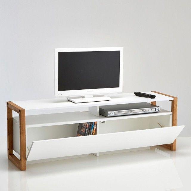 Meuble Tv Porte Abattante Compo La Redoute Interieurs Mobilier De Salon Meuble Tv Petit Meuble Tv