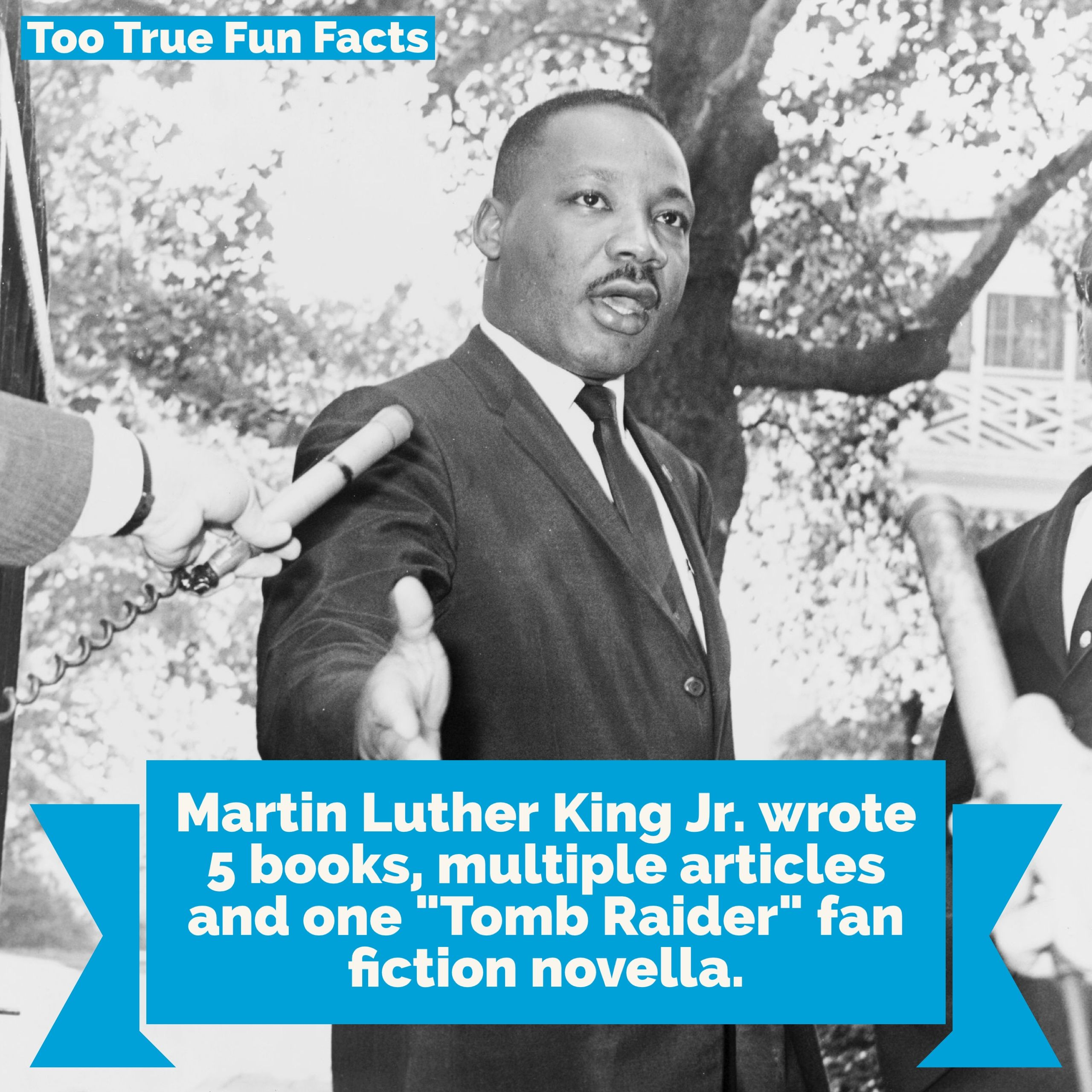 Martin Luther King Jr Was A Prolific Writer Too True Fun Facts Is