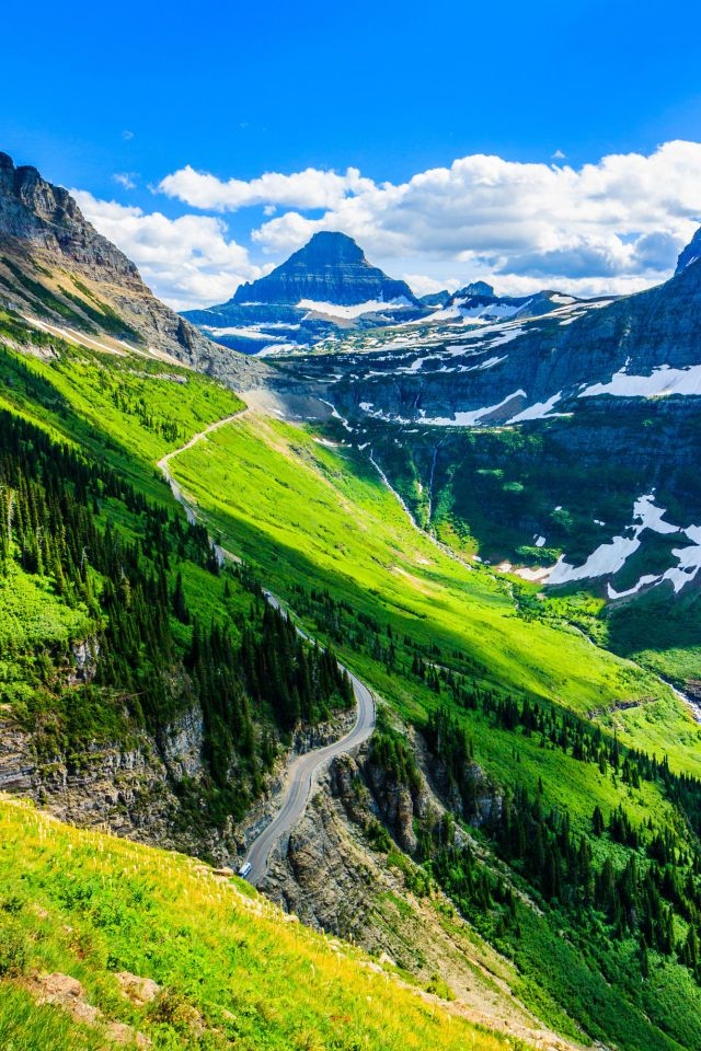 America S Most Beautiful National Park Glacier In Montana