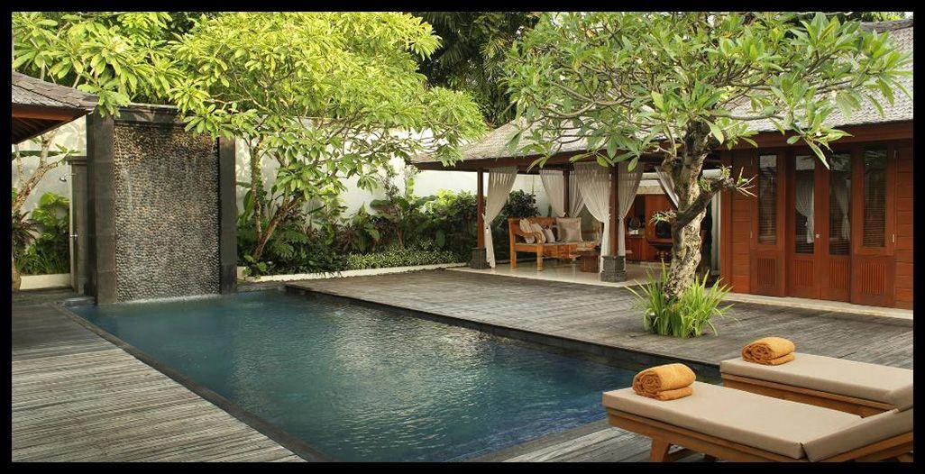 Honeymoon Destination Bali Hotel Landscape Outdoor Cabana