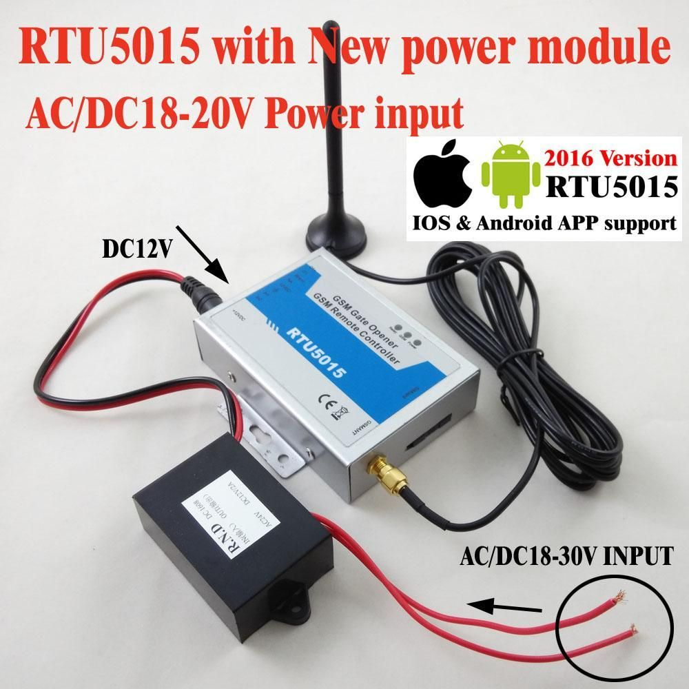 Rtu5015 Automatic Gsm Gate Opener Switch Remote Access