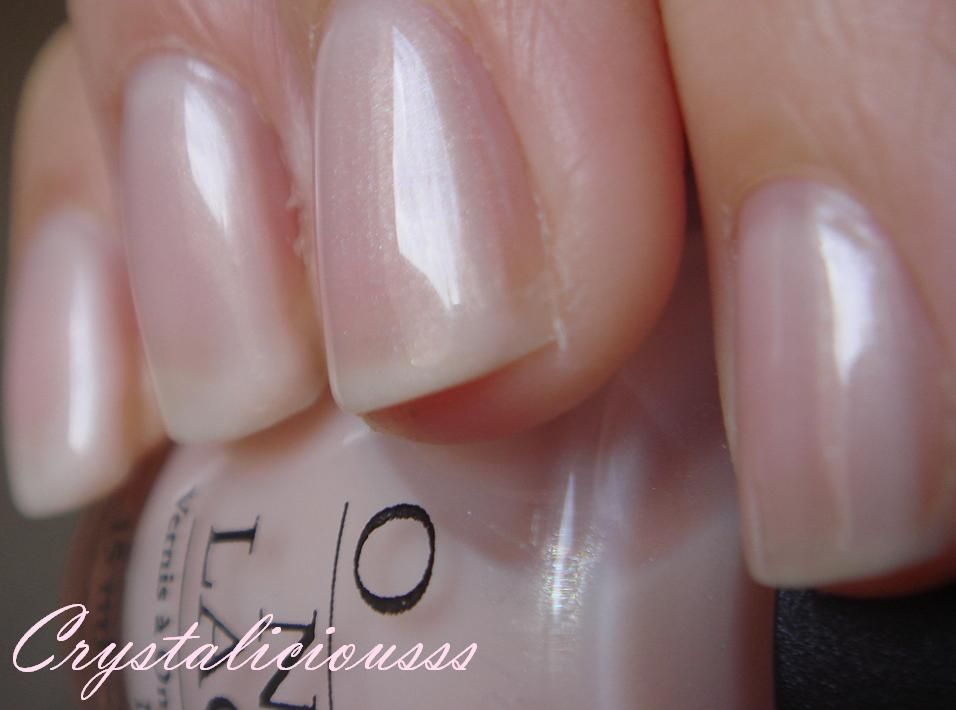 OPI's I'll Take the Cake - perfect nude with the slightest shimmer (need to find a cruelty-free dupe)