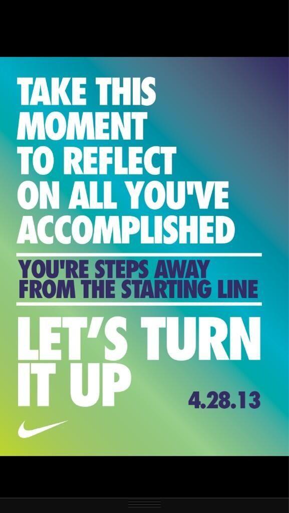 Nike quote. Running MotivationFitness MotivationNike Motivation QuotesAthlete  ...