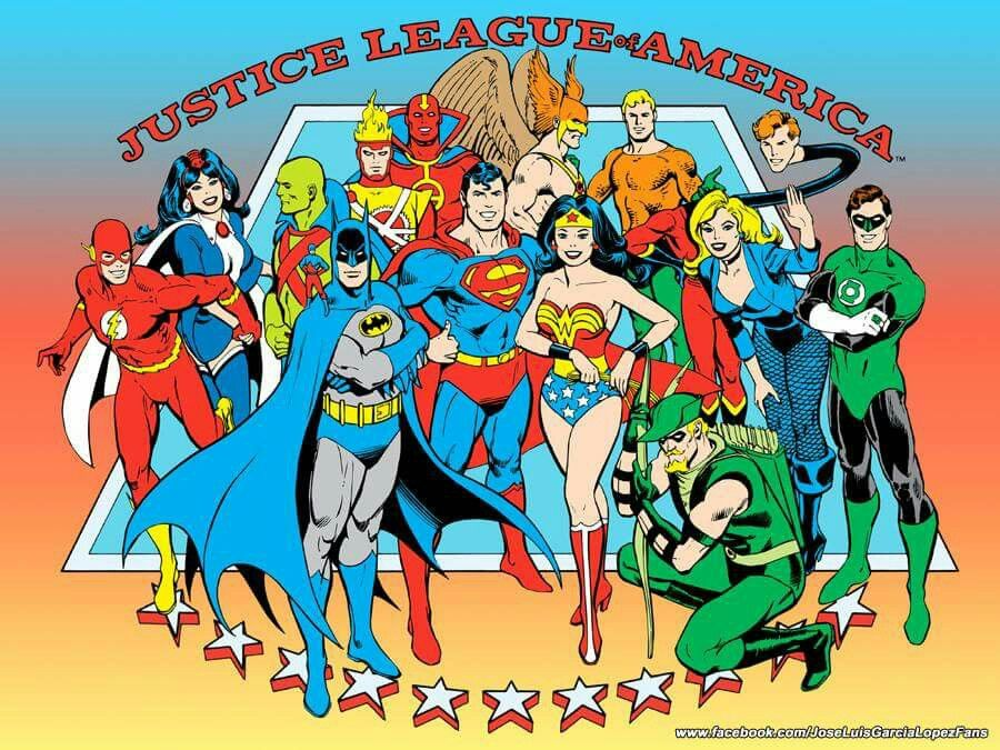 1982 Justice League of America style guide