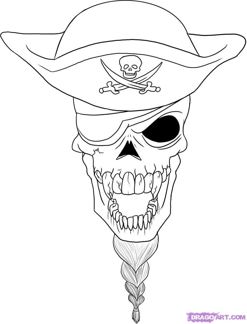 Use The Form Below To Delete This How To Draw A Soldier Skull Step 6 Image From Bocetos Tatuajes Bocetos Dibujos [ 1066 x 811 Pixel ]