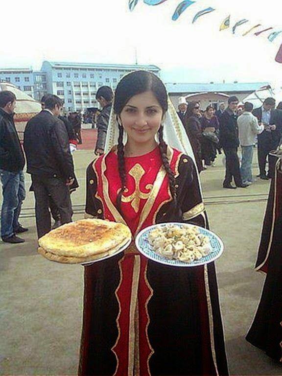 Turkic Girl.