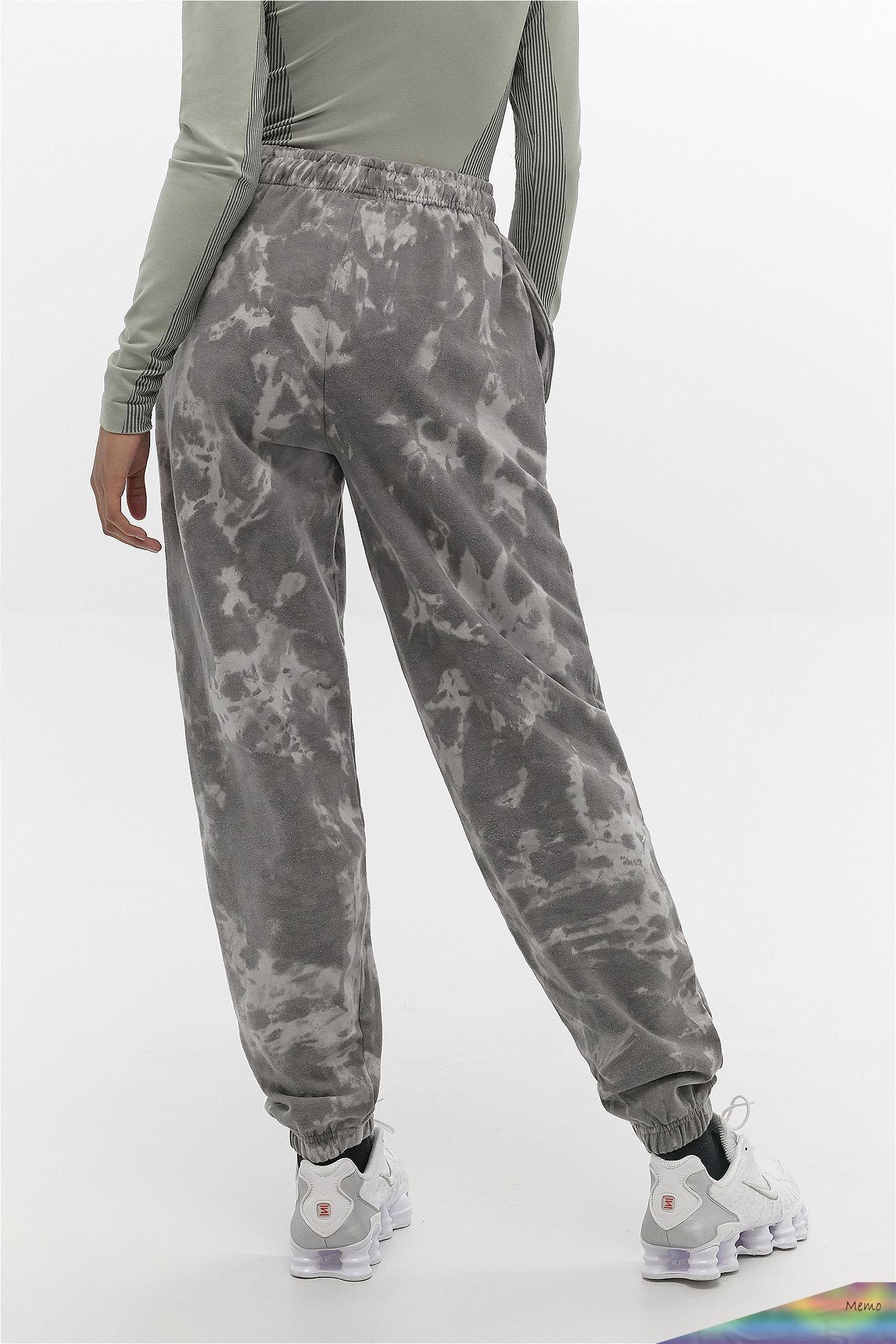 May 3 2020 Iets Frans Grey Tie Dye Joggers Urban Outfitters Uk Grey Tie Dye Tie Dye Outfits Grey Sweatpants