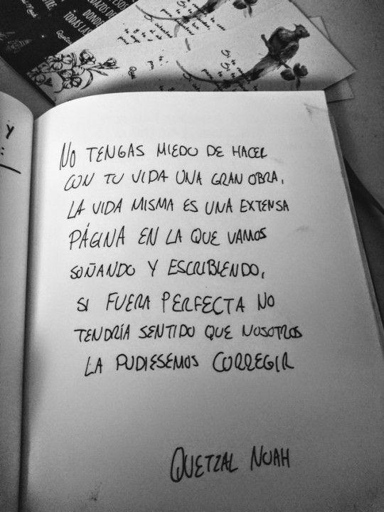 Quetzalnoah.com - #amor #and #animo #arte #cita #frase #letras #poema #poetas #reflexion #rock #roll #tiempo