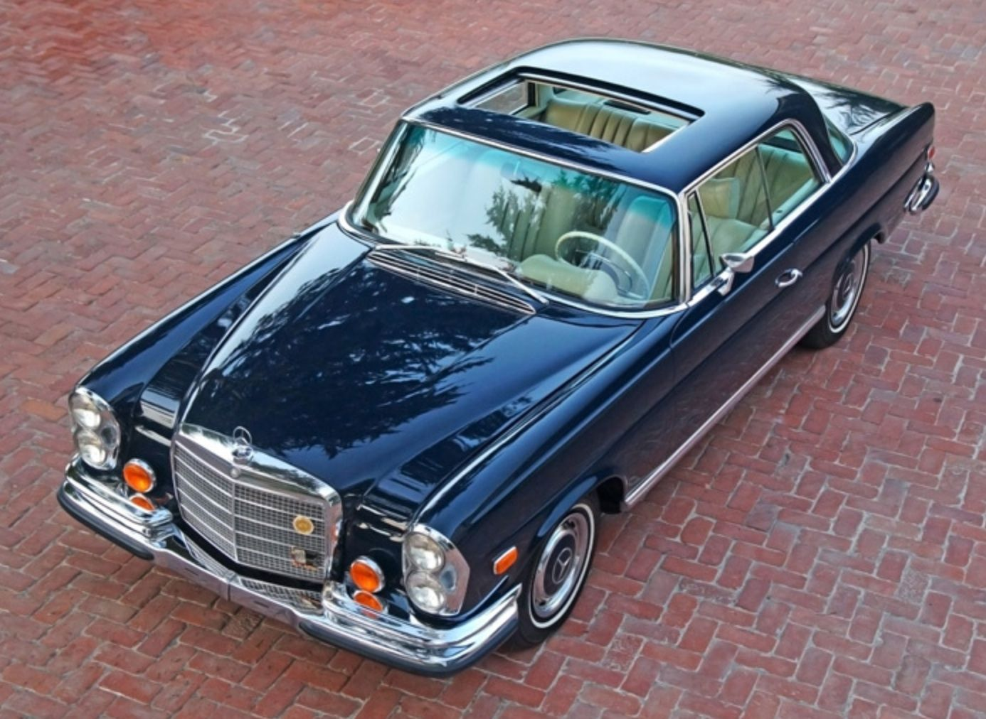 1971 mercedes benz 280se 3 5 coupe for Mercedes benz of hunt valley