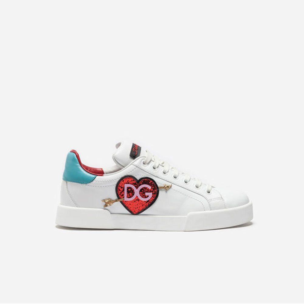 Dolce Gabbana Sneakers Ayakkabı Beyaz