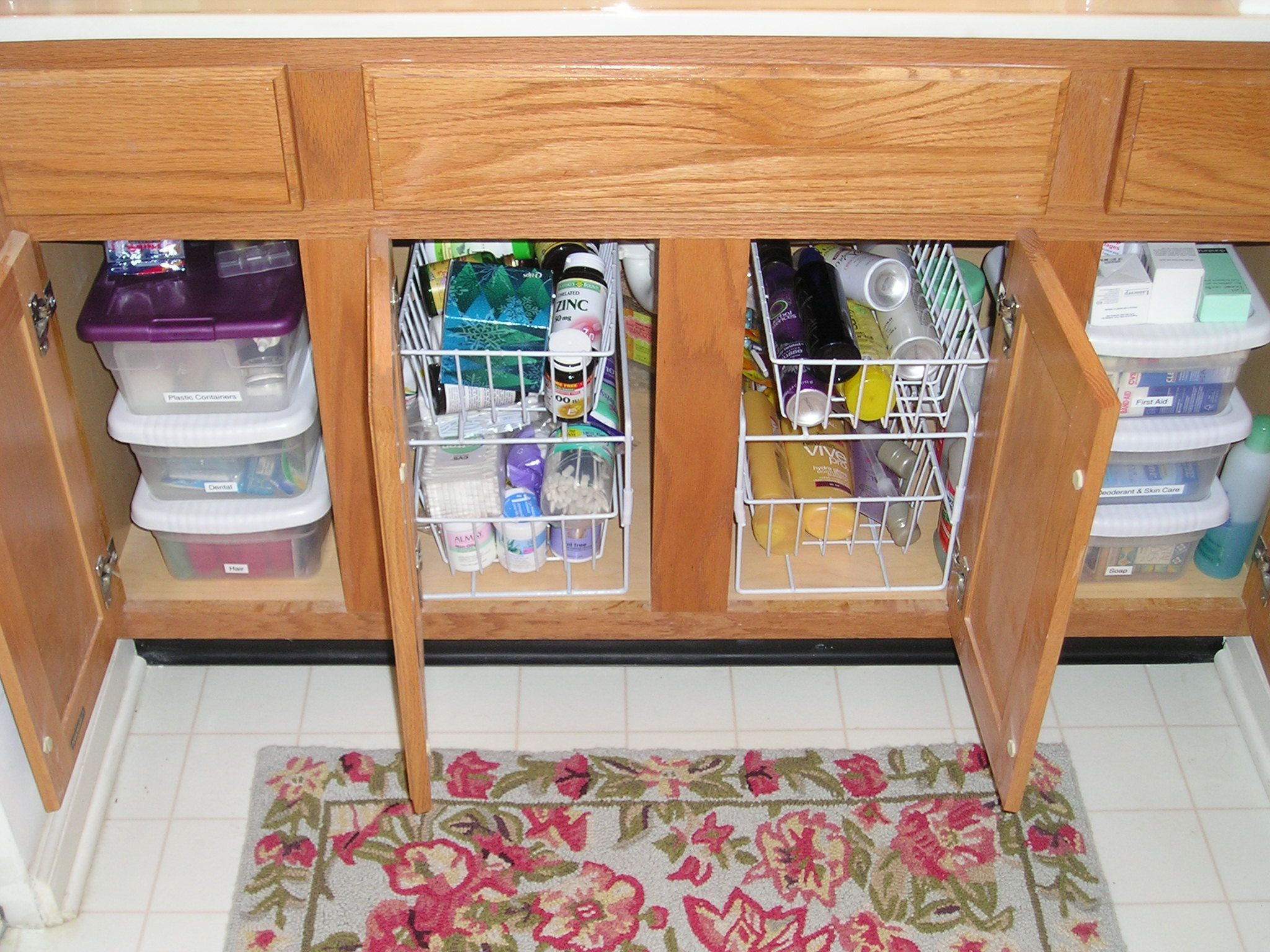 Under Sink Storage Ideas. Look And Learn Plenty Under Kitchen / Bathroom  Cabinet Sink Pull