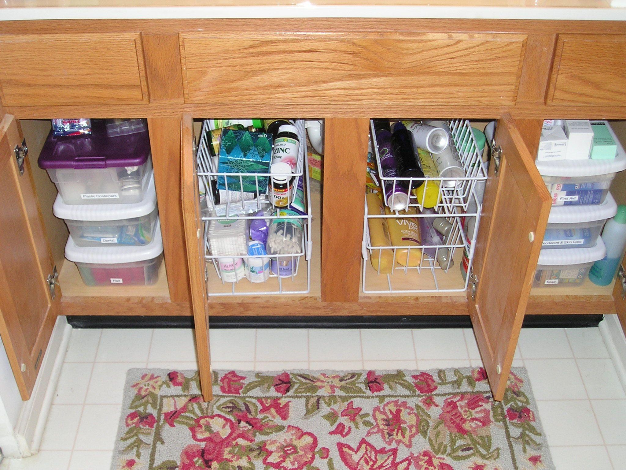 under pedestal sink storage cabinet the pedestal sink storage cabinet  organize the space under bathroom sink .