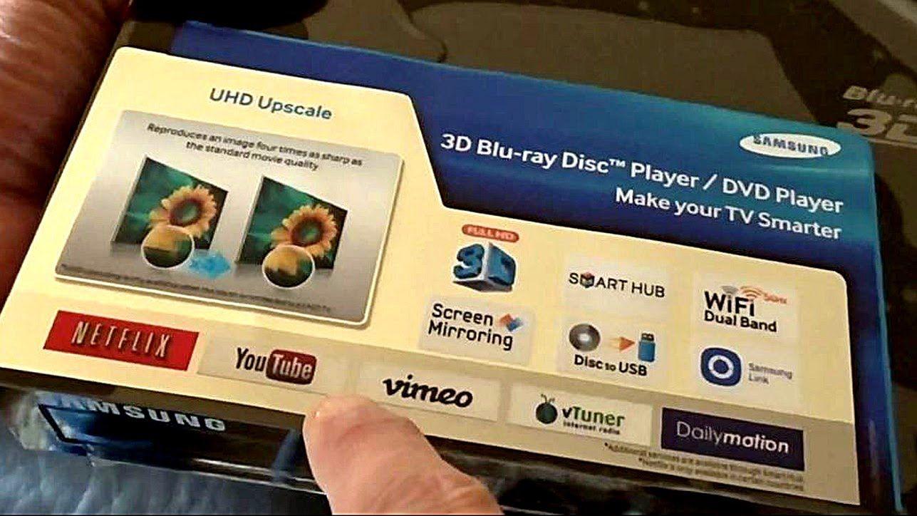 UNBOX setup the Samsung Smart 4K UHD 3D Blu-ray/DVD Movies