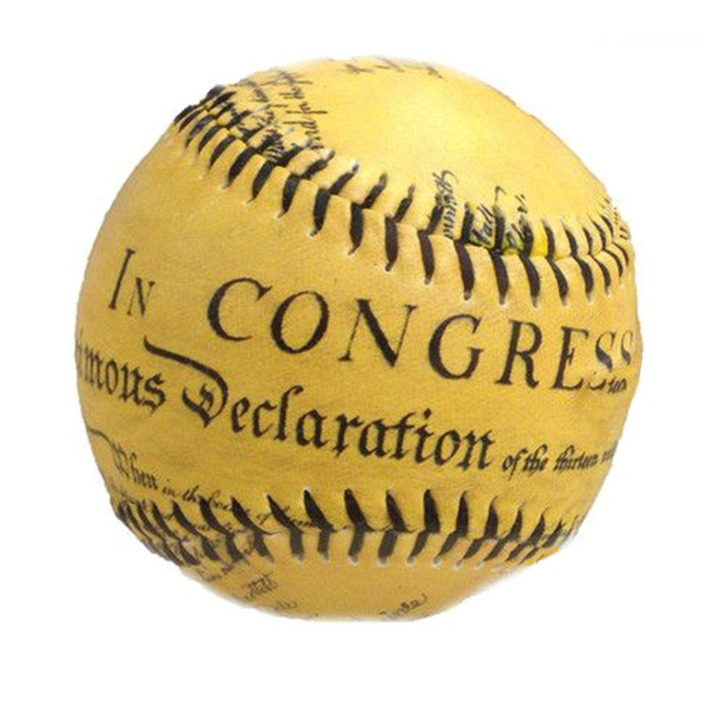 Declaration Of Independence Baseball Declaration Of Independence Declaration Library Of Congress