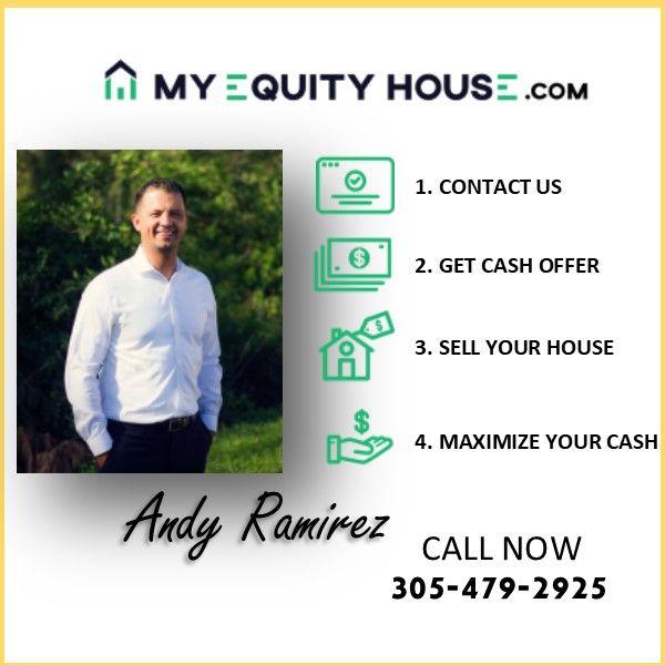 Cuales son los 4 pasos de My Equity House Tu primer paso es contactarnos llamanos o visitanos en linea es para una oferta gratis por tu casa