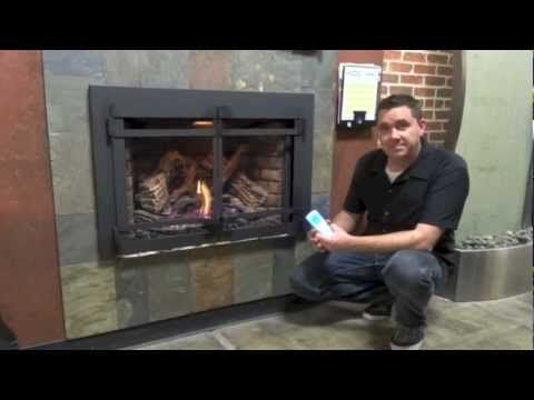 Mike Talking About The Xir4 Napoleon Gas Insert Fireplace