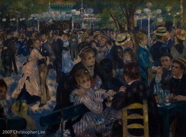 Crouds Renoir Art Renoir Paintings Expensive Paintings