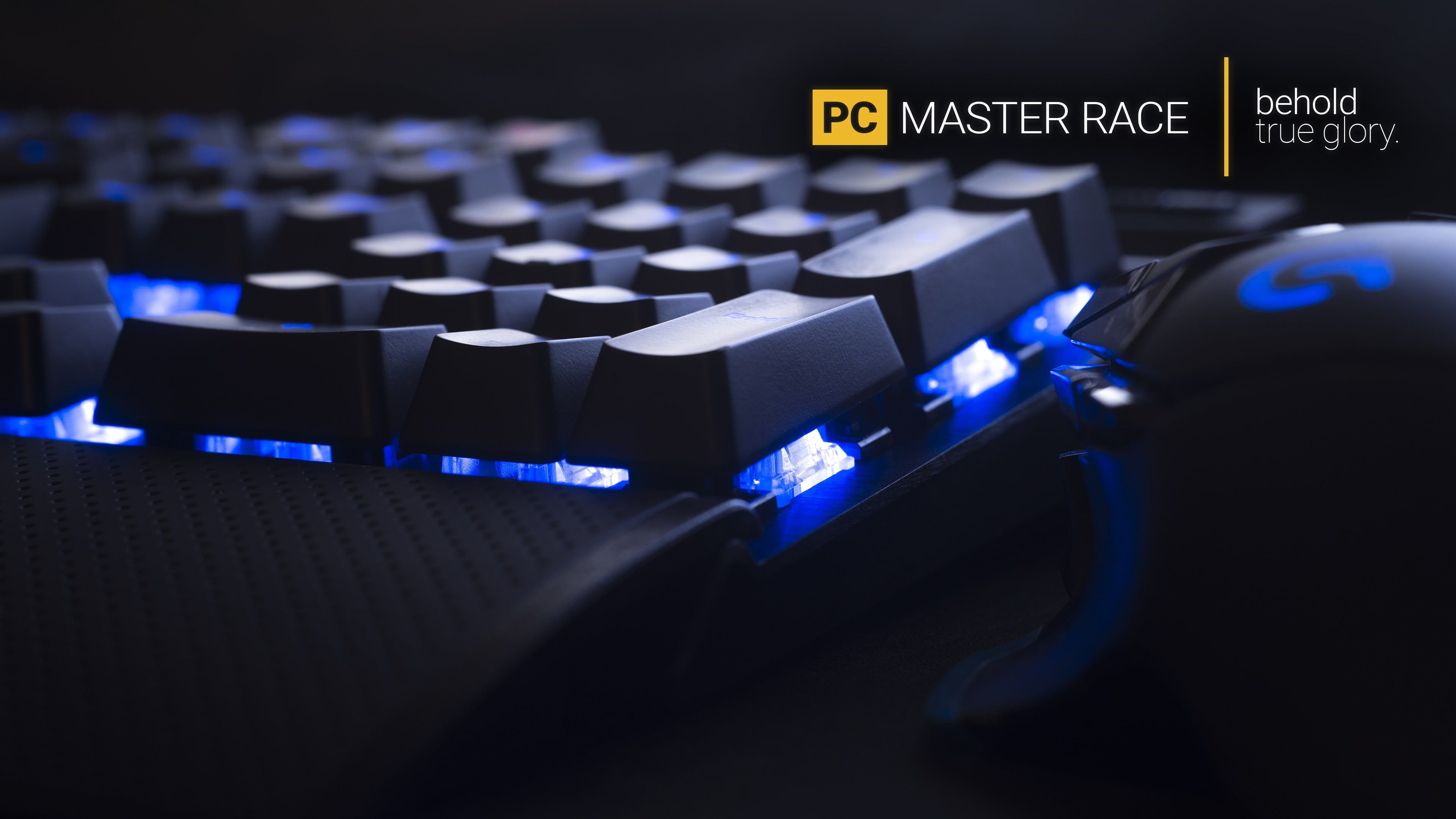 Black Logitech Gaming Keyboard And Mouse Pc Gaming Master Race Keyboards Technology Computer Mice Hardware Comp Hd Wallpapers For Pc Gaming Pc Computer Set