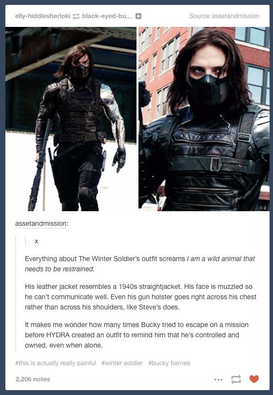 "Hydra & The Winter Soldier, James ""Bucky"" Buchanan Barnes"