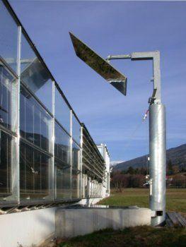 Spiegelschacht Keller mirror heliostat архитектура building