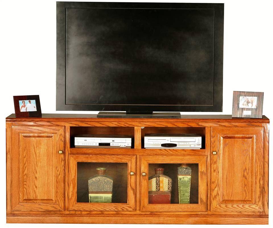 Entertainment Console, Classic Oak Furniture Illinois