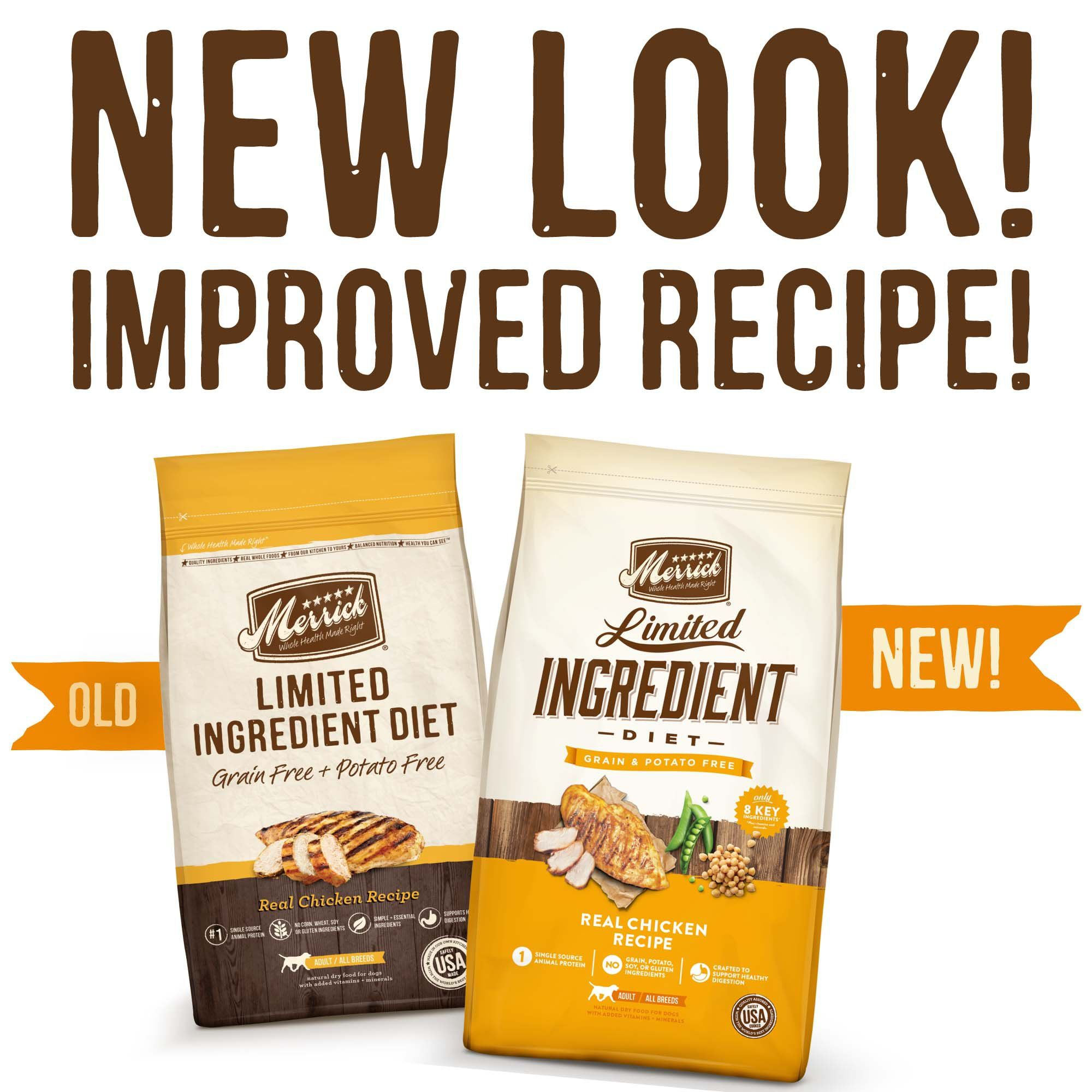 Merrick Grain Free Limited Ingredient Diet Chicken Dry Dog Food