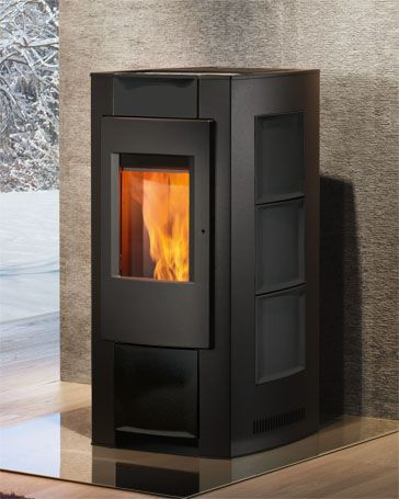 Rika Pellet Stove Pico Down To 2 4 Kw Comes In Colours Pellet Stove Stove Pellet
