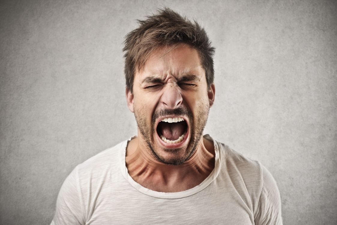 Pictures of angry facial expressions