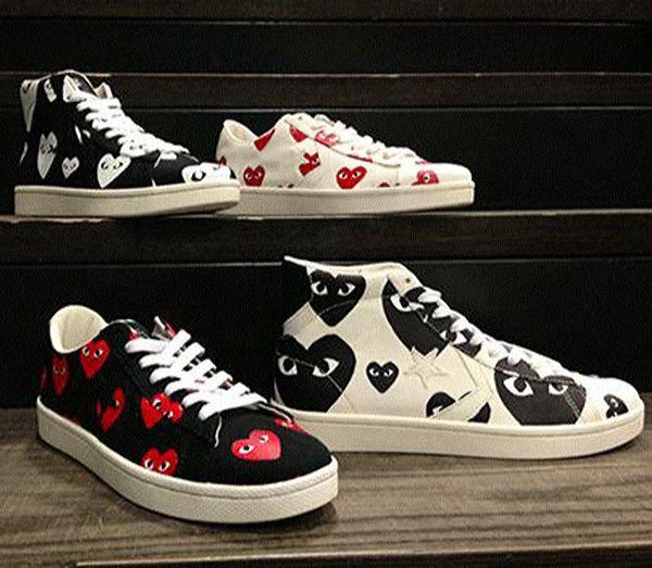 Comme Des Garçons diseña unas #zapatillas para Converse
