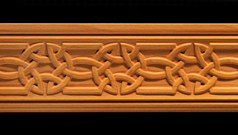 Celtic Knot Wood Moulding