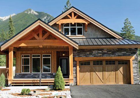 osprey 1 post beam retreats cottages post beam homes cedar homes rh pinterest com post and beam houses for sale in nh post and beam houses for sale