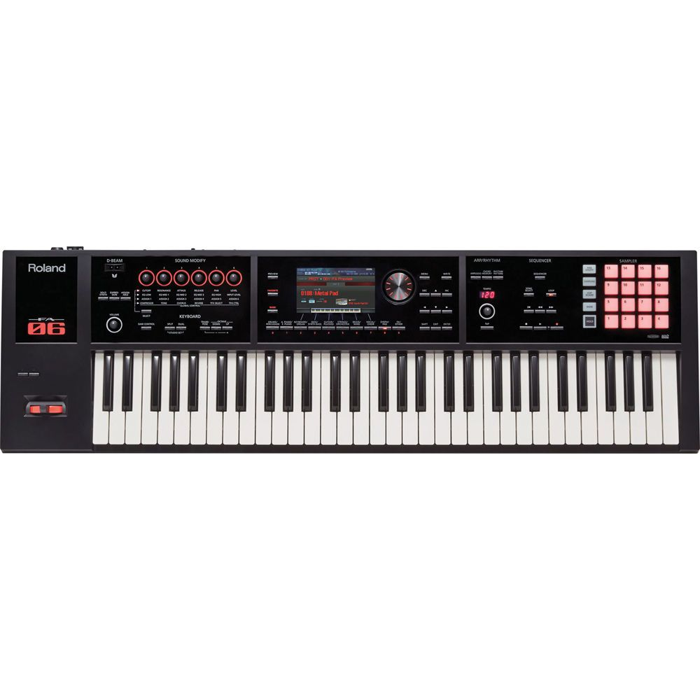 fa 06 music workstation synths in 2019 roland synthesizer music music machine. Black Bedroom Furniture Sets. Home Design Ideas