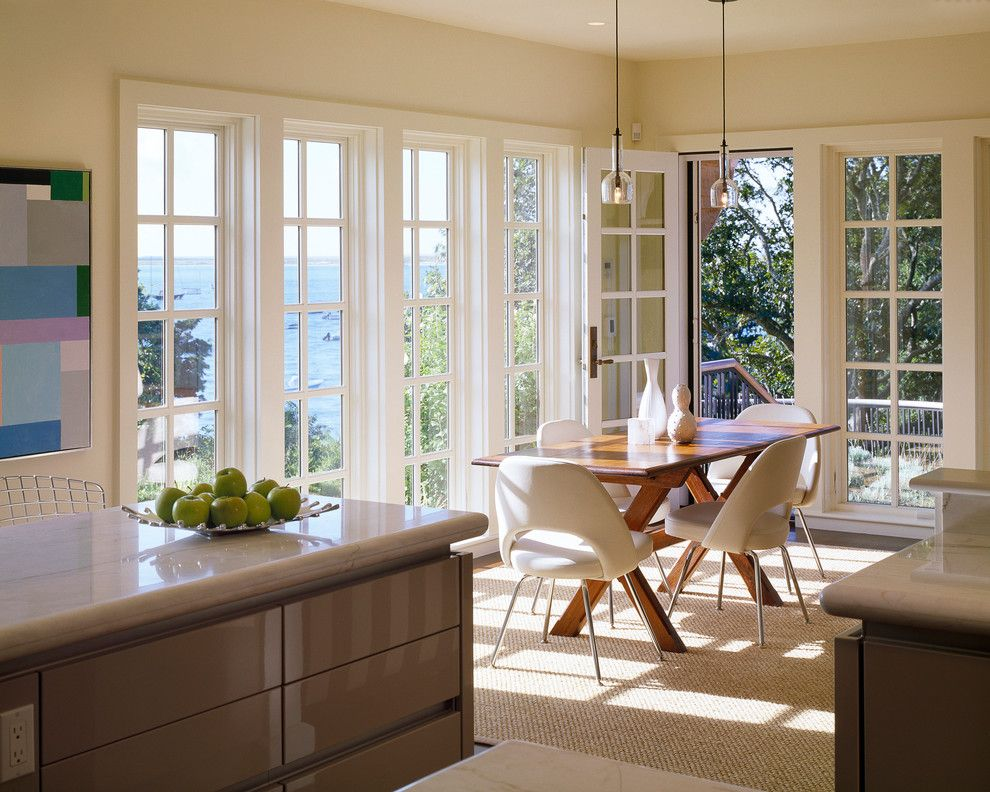 dining room with french windows - Google Search