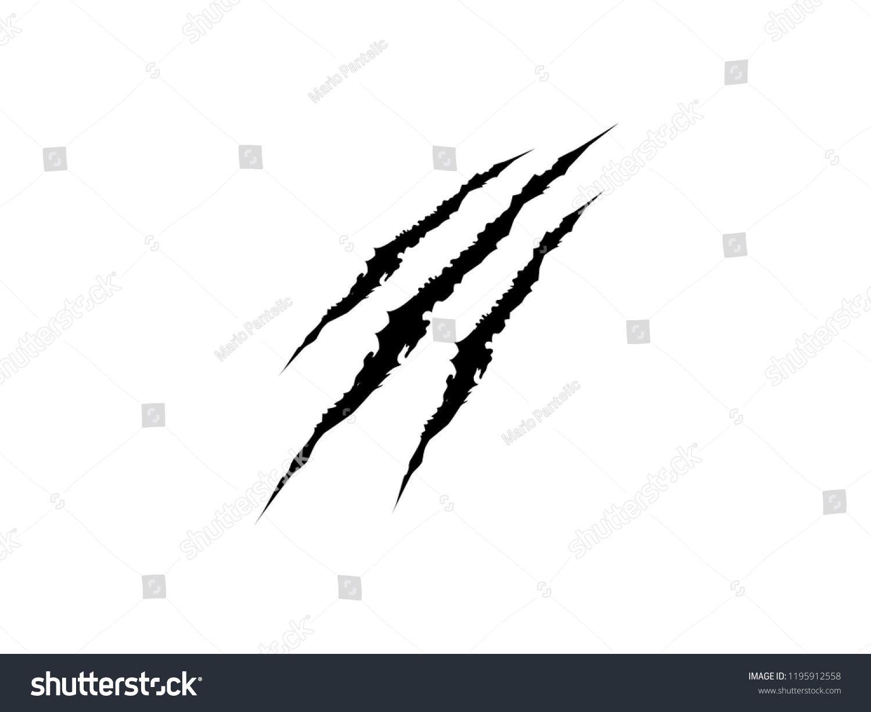 claw mark tiger claw black scratch beast claw tiger mark claw claw [ 1500 x 1225 Pixel ]