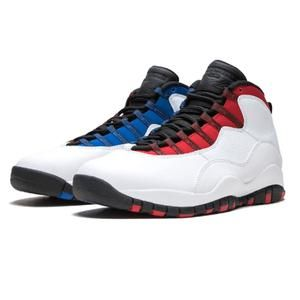 Jordan Retro Tinker 10 Men Basketball Shoes White Man Sport Sneakers Westbrook Chicago Blue Outdoor Shoes New Arrival Latest Fashion Simulators