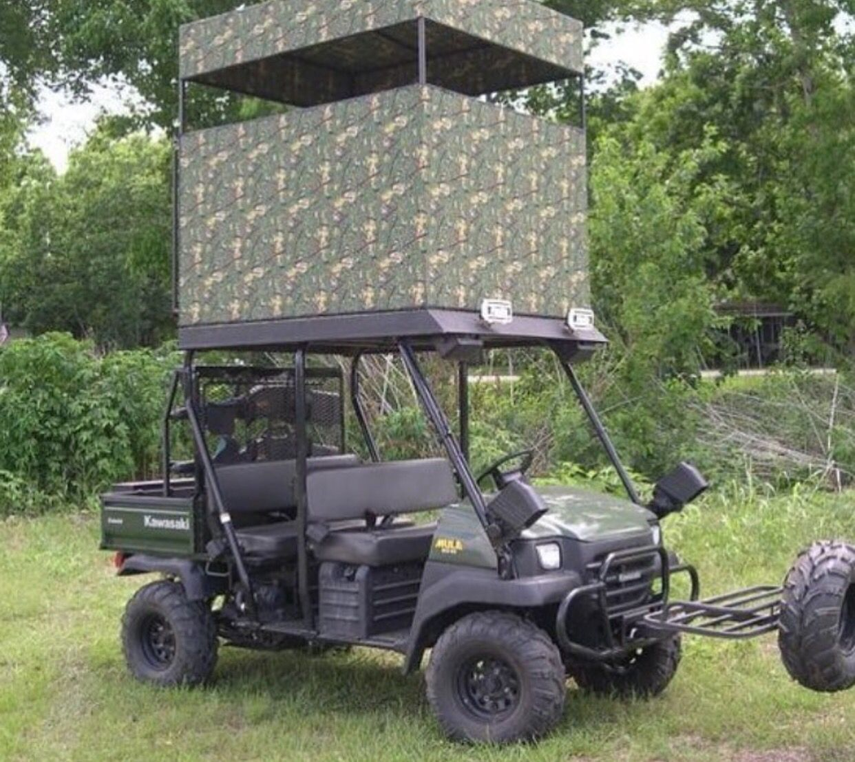 Hunting Blind On Top Of A Atv Atvs Pinterest And 2004 Polaris Sportsman 700 Fuel Filter Ranger 900 Utv Accessories Hog