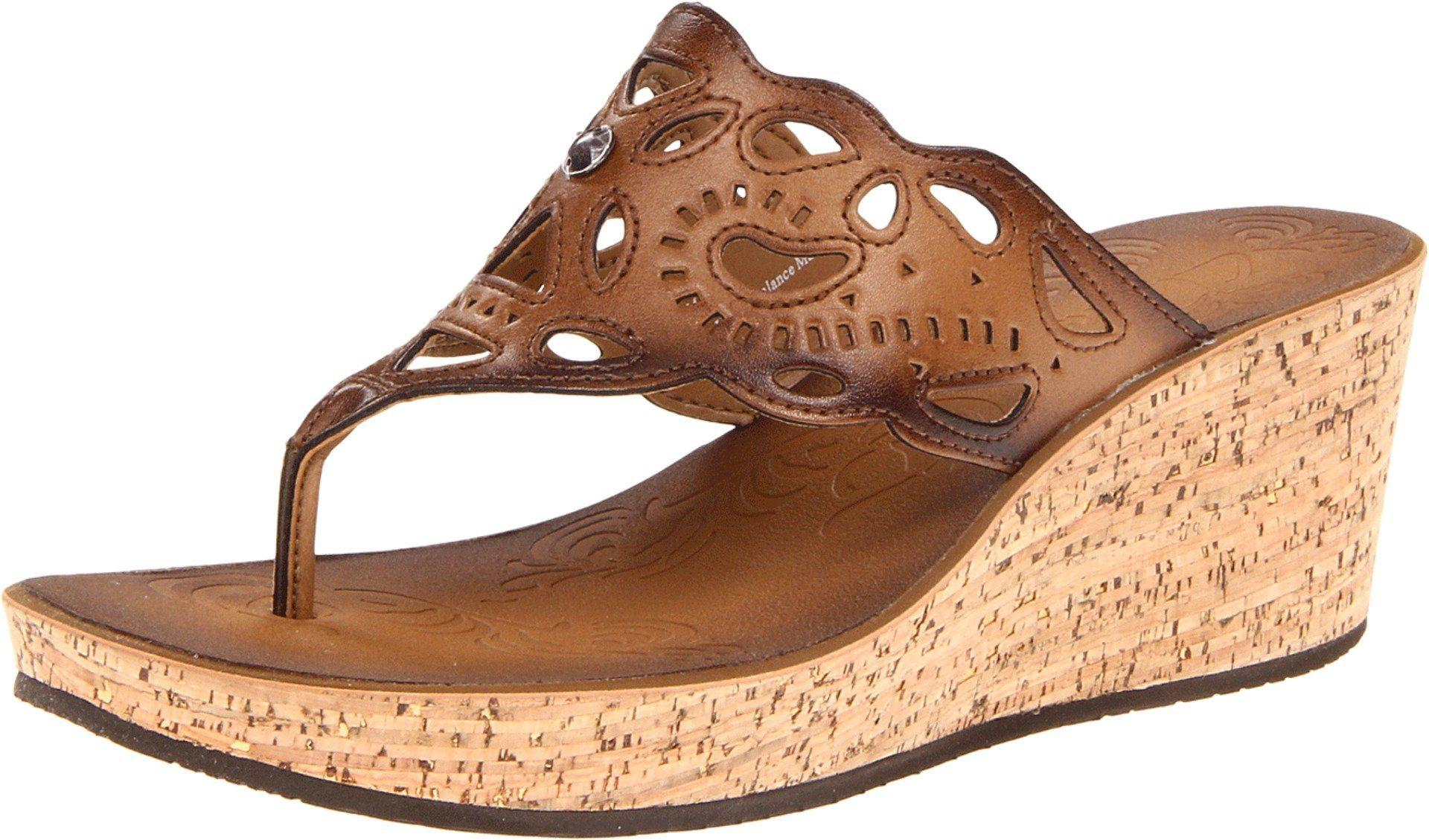 27337a6f715f Cute wedge sandal by Clark s. Clarks Women s Clarks Mimmey Anne Thong Sandal