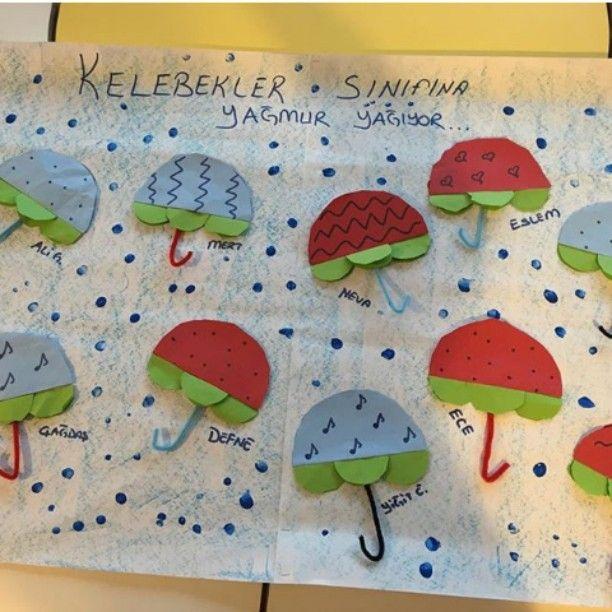 Umbrella Craft Ideas For Kids Part - 17: Umbrella Craft Idea For Kids (2)