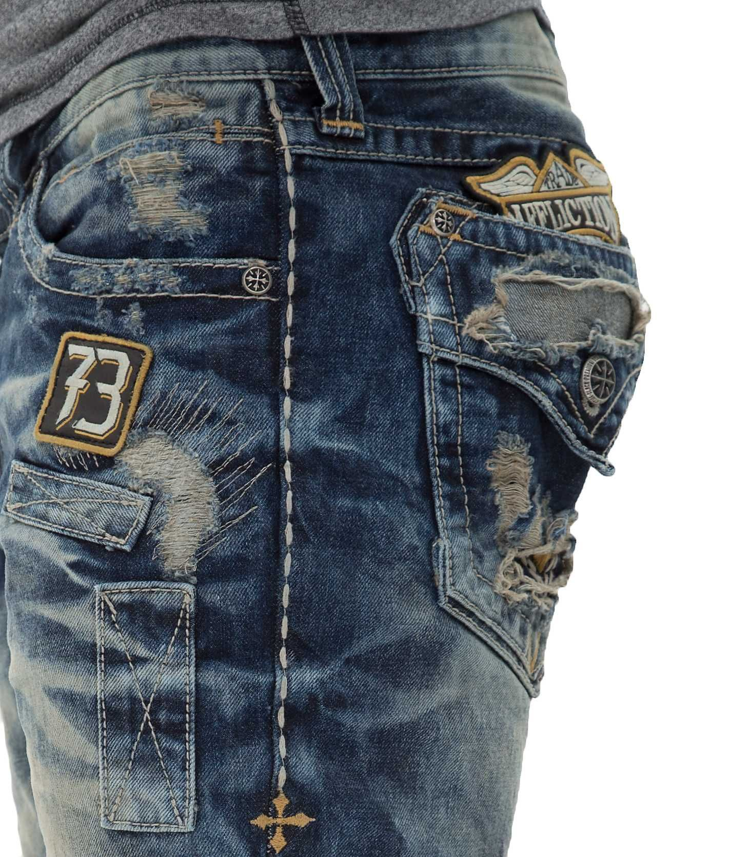 Affliction Black Premium Blake Jean Affliction Clothing Mens Fashion Jeans Denim Jacket Men [ 1671 x 1425 Pixel ]