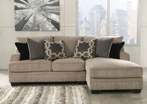 Katisha Platinum Right Arm Facing Chaise End Sectional : right arm facing sectional - Sectionals, Sofas & Couches