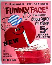 Funny Face Drink Mix It Was A Knock Off Of Kool Aid My Childhood Memories Funny Faces Childhood Memories