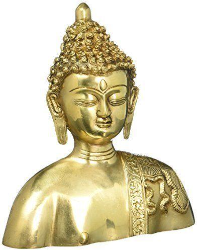 Religious Brass Statue Buddha Wall Art Décor Buddhism Sculpture for ...